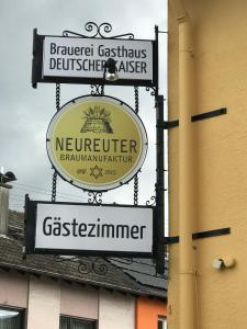 Brauerei Gasthaus DEUTSCHER KAISER - Büchenau