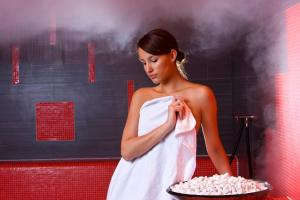 Alpen-Herz Romantik & Spa - Adults Only, Hotely  Ladis - big - 73