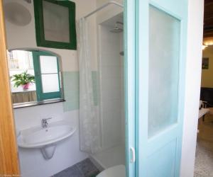 Einzelzimmer mit eigenem externen Bad
