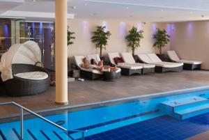 Alpen-Herz Romantik & Spa - Adults Only, Hotely  Ladis - big - 42