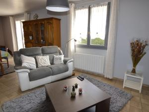 Charming Holiday Home In Denneville with Garden