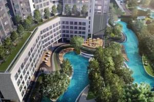 ideo o2曼谷bangna区三万平森林轻氧公寓三个超大网红打卡泳池两个健身房足球场绿道都在小区内 - Bang Krasop