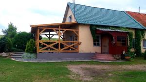 Domki letniskowe na Dołku Brejdyny