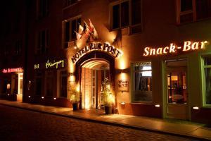 Altstadt Hotel zur Post Stralsund, Отели  Штральзунд - big - 17