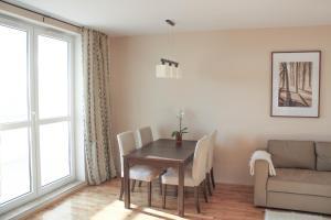 Biały Żagiel apartament w pobliżu molo w Brzeźnie
