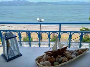 Spacious Seaside Apartment on the Wave Achaia Greece