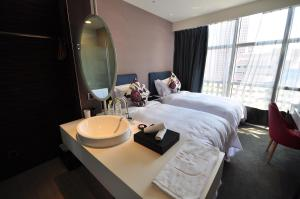 AT Boutique Hotel, Hotel  Taipei - big - 151