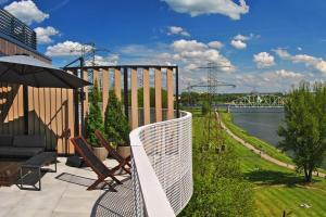 Penthouse Vistula river view Kazimierz Krakow