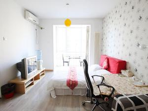 China Sunshine Apartment Guomao, Apartmány  Peking - big - 47