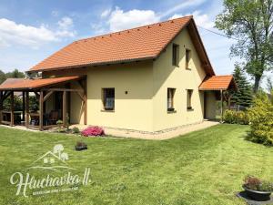 Ferienhaus Chata Hluchavka II Arnoltice u Decina Tschechien