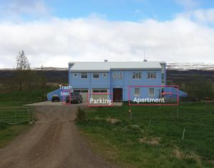 Accommodation in Eiðar