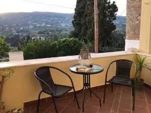 Chill out studio in the leafy Livadia village Andros Greece