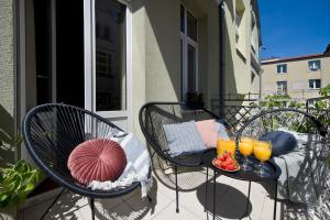 Stylish Apartment Grandic with terrace in Sopot center next to the beach.