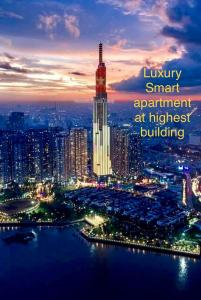Cozy Luxury Smart Apartment at Landmark 81