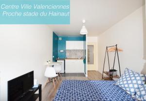 Studio tout confort - quartier La rhonelle