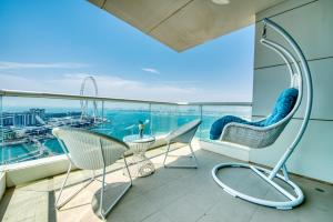 2 Bedroom Apartment in JBR with Full Sea View by Deluxe Holiday Homes - Dubai