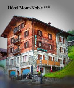 Hôtel Mont-Noble - Hotel - Nax