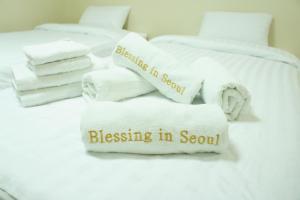 Blessing in Seoul Residence, Apartmanhotelek  Szöul - big - 39