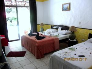 Double Room Hotel Belvedere Playa Samara Costa Rica