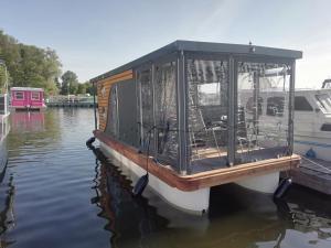 Hausboot Vermietung Brandenburg - Gladau