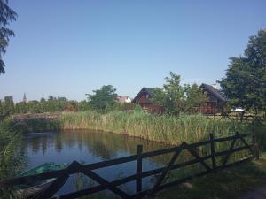 Domki całoroczne nad zalewem