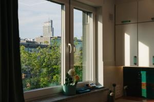 Warsaw Spire Metro Apartment
