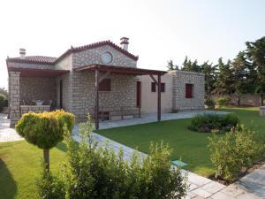 Stone house Aegina Greece