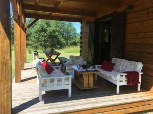 Mazurski dom wakacyjny w pobliżu jeziora Gil