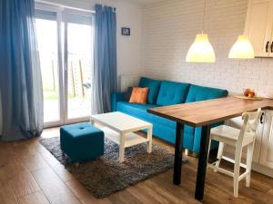 Słoneczny apartament z ogródkiem w Gdyni