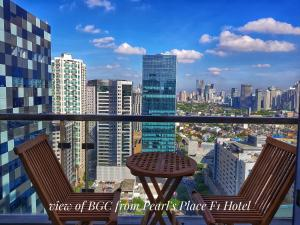 Pearl's Place in F1 Hotel BGC near St. Luke's