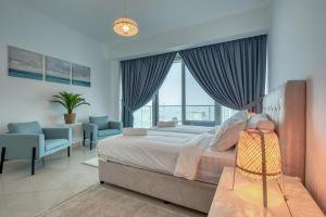 RH - 2BR, Dubai Marina, stunning views of sea, Palm from all the rooms - Dubai