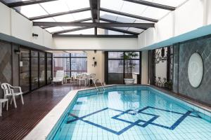 Flat Jardins Suites Sao Paulo, Апартаменты  Сан-Паулу - big - 36