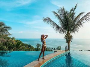The Sunset Hill Resort Hotel Review Koh Phangan Thailand