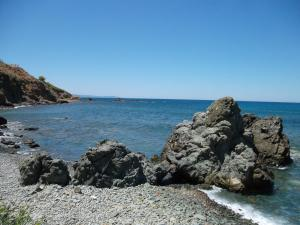 Beach Villa Pantheon, Vily  Pomos - big - 15