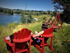 Along River Ridge Bed&Breakfast - Accommodation - Calgary