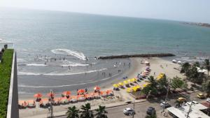 Morros City - Frente al mar, Apartmány  Cartagena - big - 54