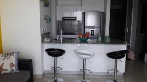 Morros City - Frente al mar, Apartmány  Cartagena - big - 56