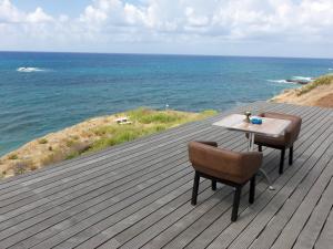 Beach Villa Pantheon, Vily  Pomos - big - 34