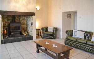 Holiday Home La Rouaudiere with Fireplace I