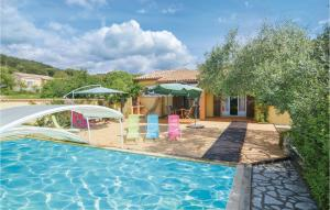 Five Bedroom Holiday Home in St Julien les Rosiers