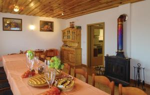 Holiday Home Dragatus with Fireplace 01