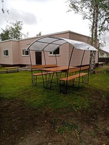 Гостевой дом Солнечный с баней, Prázdninové domy  Pribylovo - big - 42