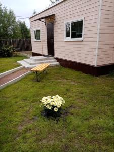 Гостевой дом Солнечный с баней, Ferienhäuser  Pribylovo - big - 40