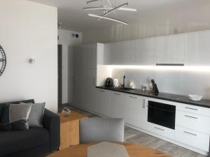 Apartament LUX Gray basen SPA Pięć Mórz Sianożęty