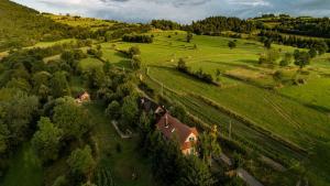 Góralskie domy w Łostówce