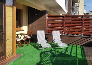 Słoneczny Apartament Osiedle Bajkowe 36m2 taras 25m2