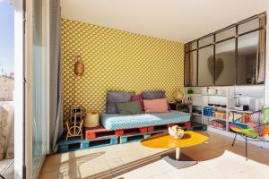 Bruce Apartment, Апартаменты/квартиры  Канны - big - 9