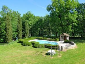 Ferienhaus mit Pool Montignac de Lauzun 300S