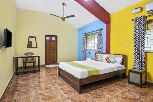 Spacious 1BR Retreat, Goa, Appartamenti  Marmagao - big - 6