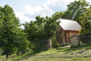 Drewniany domek z piernika